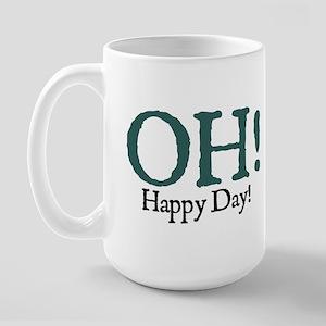 Jane Austen Happy Day Large Mug