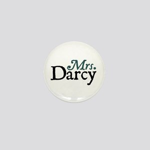 Jane Austen Mrs. Darcy Mini Button