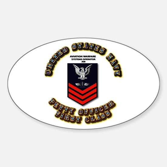 Aviation Warfare Systems Operator (AW) Decal