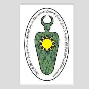 Horned God Postcards (Package of 8)