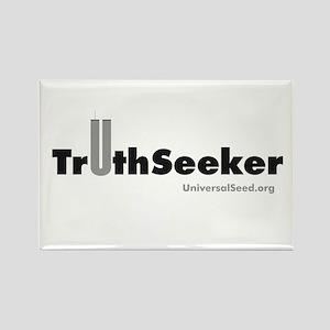 TruthSeeker Merchandise Rectangle Magnet