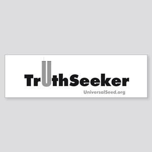 TruthSeeker Merchandise Bumper Sticker