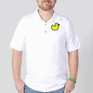 Duck Icon - Rubber Ducky Golf Shirt