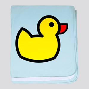 Duck Icon - Rubber Ducky baby blanket