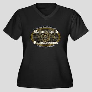 Danneskjold Repossessions Dar Women's Plus Size V-