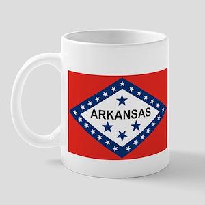 Arkansas State Flag Mug