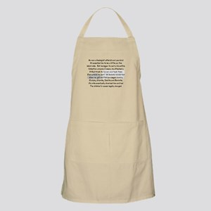 Geologist Story Art Gifts Apron