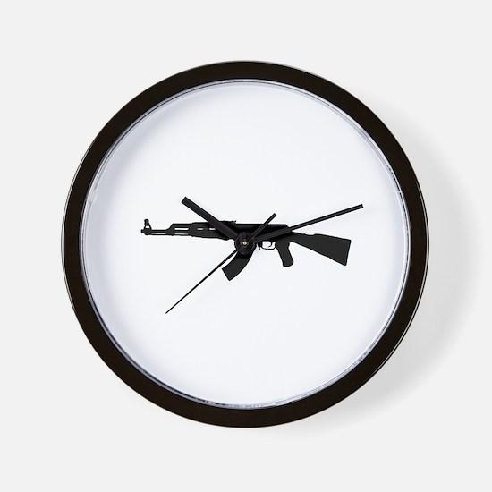 Cute Ak47 Wall Clock