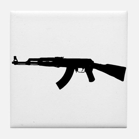 Cute Ak47 Tile Coaster
