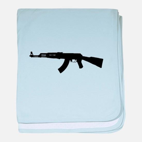 Firearms baby blanket