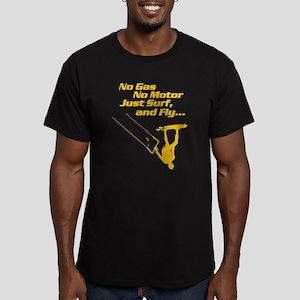 Kite Surf Men's Fitted T-Shirt (dark)