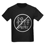 Anti Stick People Kids Dark T-Shirt