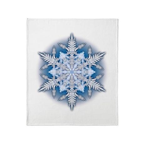 Snowflake 33 Throw Blanket
