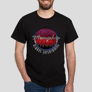 Memphis Icon Skyline Dark T-Shirt