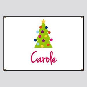 Christmas Tree Carole Banner