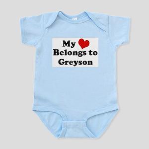 My Heart: Greyson Infant Creeper