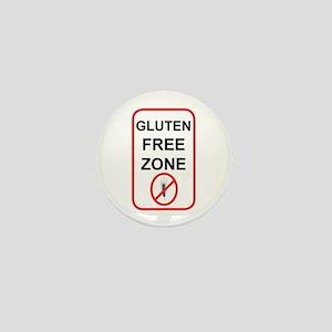 Gluten-Free Zone Mini Button