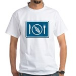Vegetarian White T-Shirt