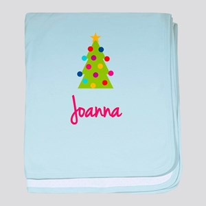 Christmas Tree Joanna baby blanket
