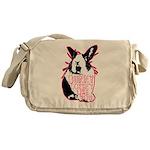 Bunny Doesn't Like You Messenger Bag