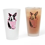 Bunny Doesn't Like You Drinking Glass