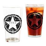 Dyke Star Drinking Glass