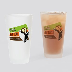 Hot Slice Drinking Glass