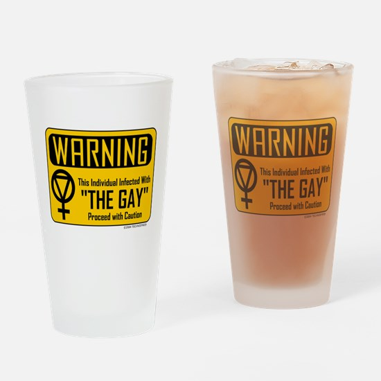 """The Gay"" Drinking Glass"
