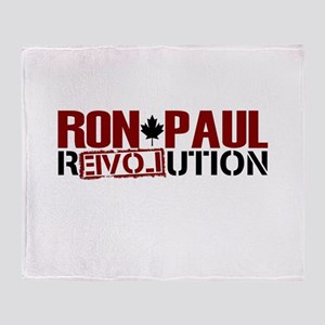Canadians For Ron Paul Throw Blanket