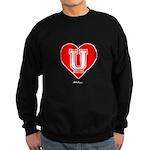 Love U Sweatshirt (dark)
