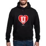 Love U Hoodie (dark)
