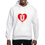 Love U Hooded Sweatshirt