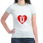 Love U Jr. Ringer T-Shirt