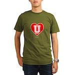 Love U Organic Men's T-Shirt (dark)
