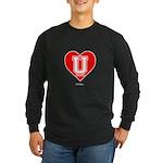 Love U Long Sleeve Dark T-Shirt