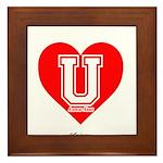 Love U Framed Tile