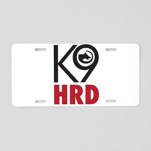 Bold HRD K9 Aluminum License Plate