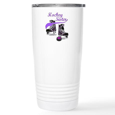 Hockey Sister Stainless Steel Travel Mug