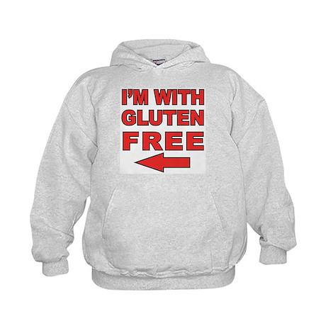 I'm With Gluten-Free Kids Hoodie