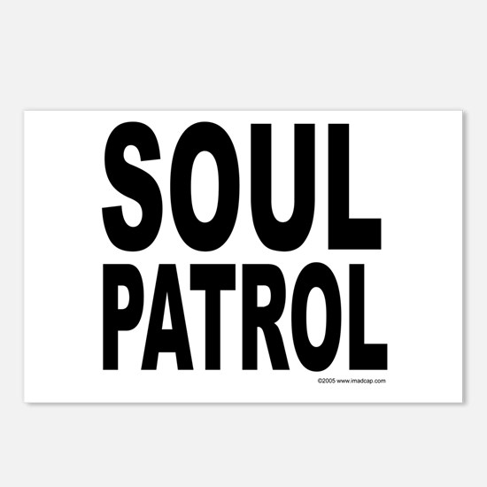 Soul Patrol Postcards (Package of 8)