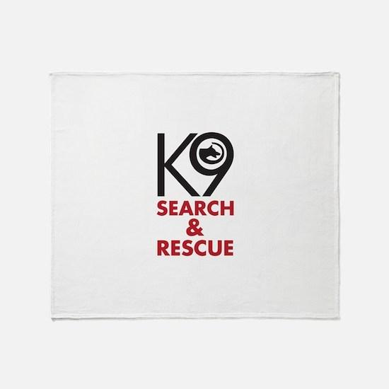 K9 Bold General S&R Throw Blanket
