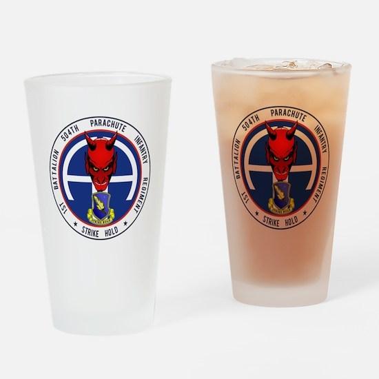 1st / 504th PIR Drinking Glass