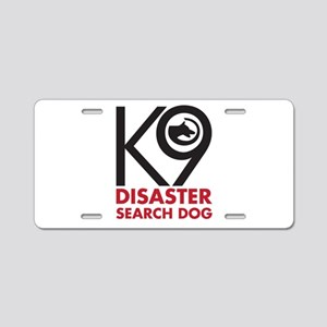 Disaster Dog Bold Aluminum License Plate