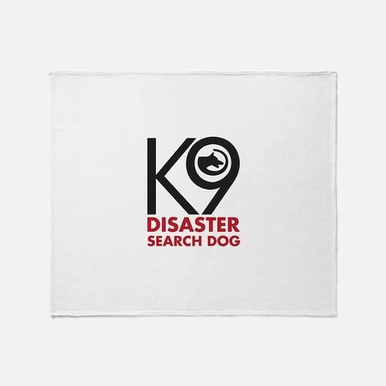 Disaster Dog Bold Throw Blanket