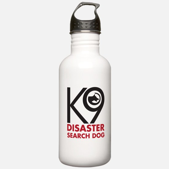 Disaster Dog Bold Water Bottle