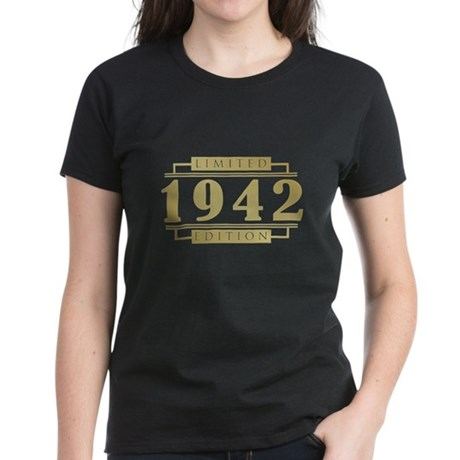 1942 Limited Edition Women's Dark T-Shirt
