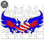 Heart Flag ver2 Puzzle