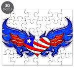 Heart Flag ver3 Puzzle