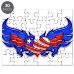 Heart Flag ver4 Puzzle