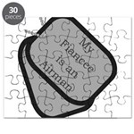 My Finacee is an Airman dog t Puzzle